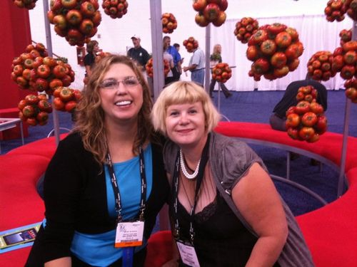 Jean ann and amanda tomatoes