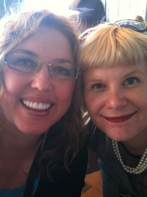 Jean Ann and Amanda